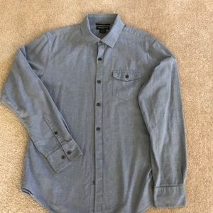 Claiborne slim fit long sleeved casual shirt
